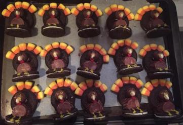 turkey day cookies